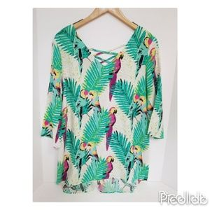 NWT All for Color Tunic